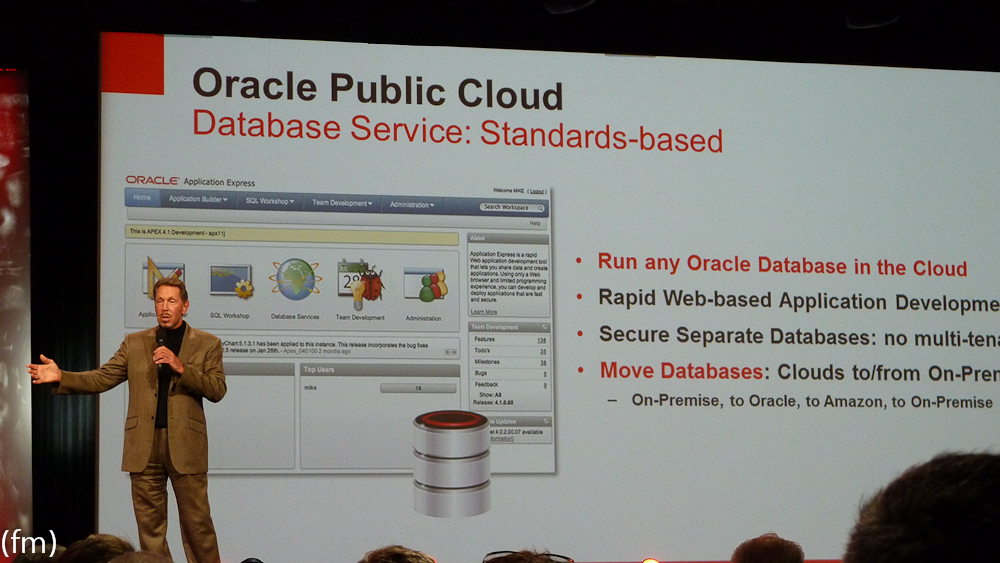 Oracle announcing Oracle Public Cloud – First comments ...