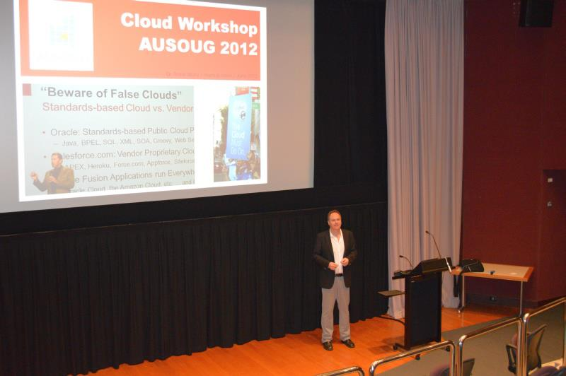 Cloud Computing Workshop, Dr. Frank Munz, Oracle ACE Director