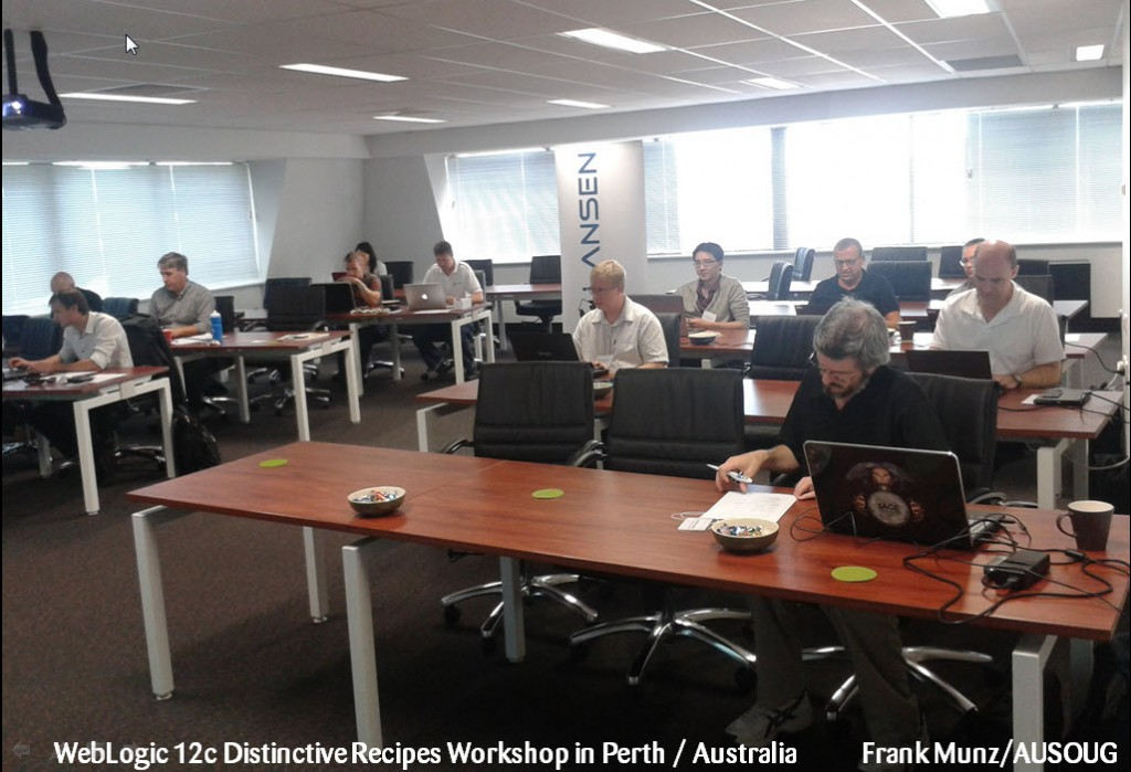 workshop perth