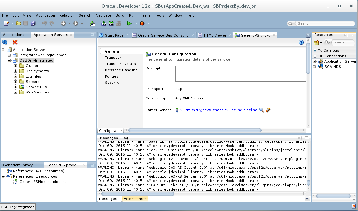 Functional Checklist: OSB 12c / SOA Cloud Service (SOA CS