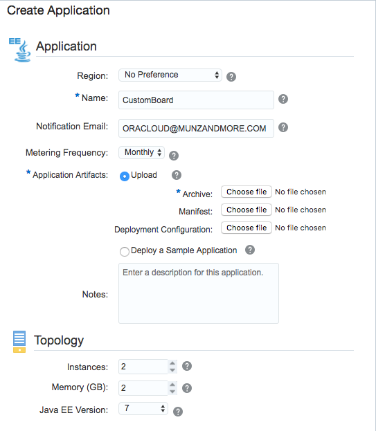 Frank Munz's Blog: Oracle Fusion Middleware and Cloud