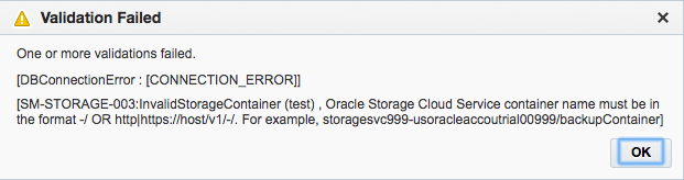 Fixed SOA Suite CS Error in Oracle Cloud: Validation Failed – Unable
